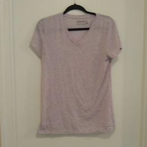 Eddie Bauer heathered lilac t-shirt
